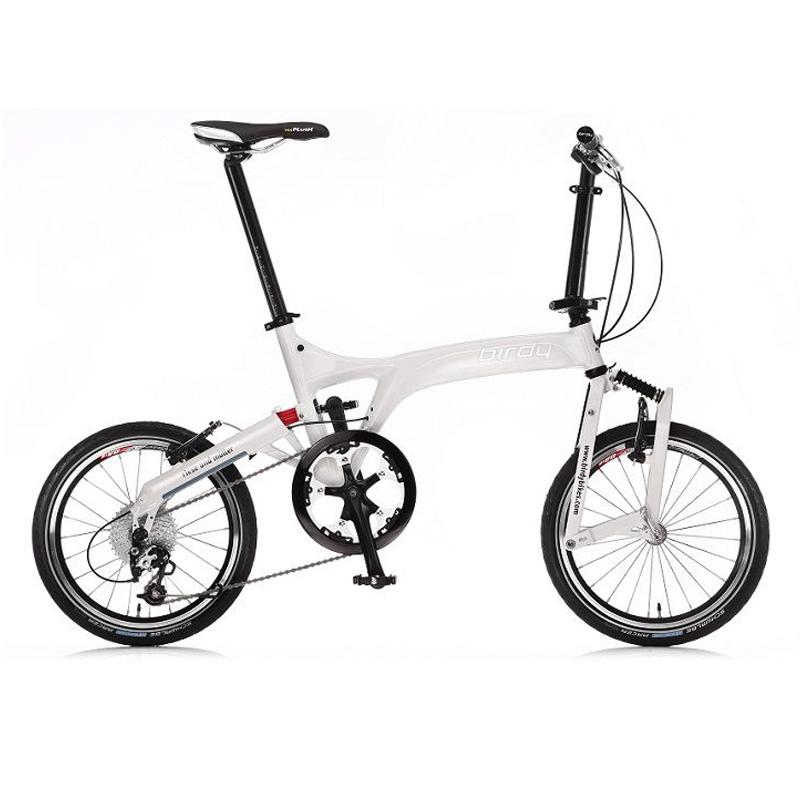 Birdy Bici Plegable blanca